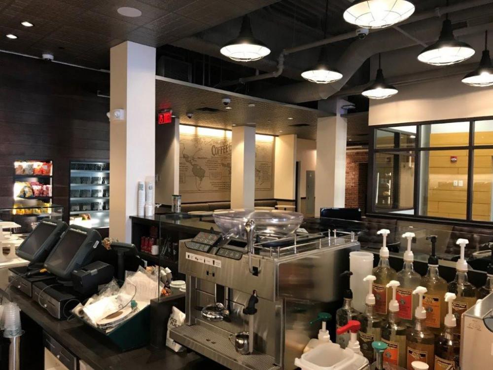 UCONN Waterbury Starbucks Interior Fit Out | Richards