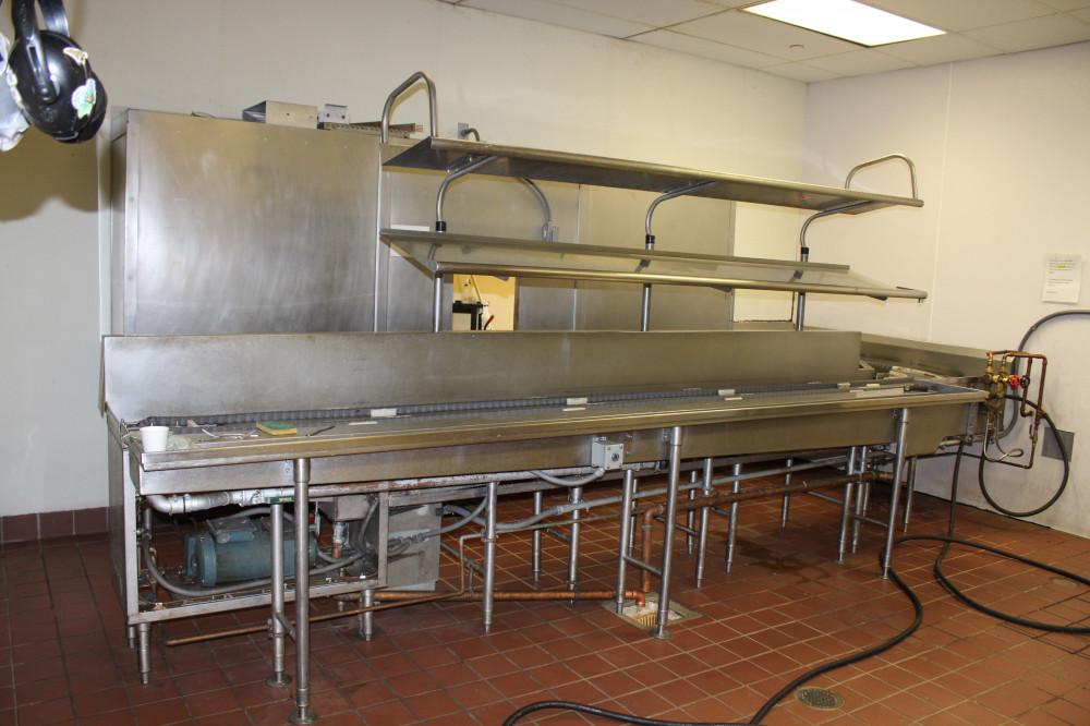 Uconn Northwest Dish Room Richards Corporation